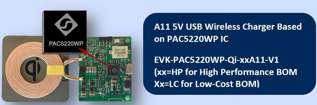 Active-Semi EVK-PAC5220WP-Qi-xxA11-V1