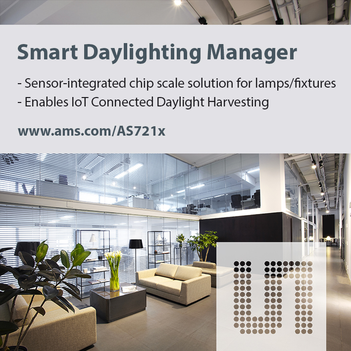 AMS AS721x Smart Daylighting Manager