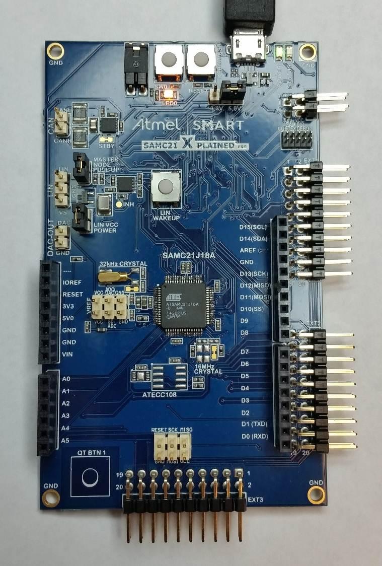 Atmel SAM C21 Xplained Pro