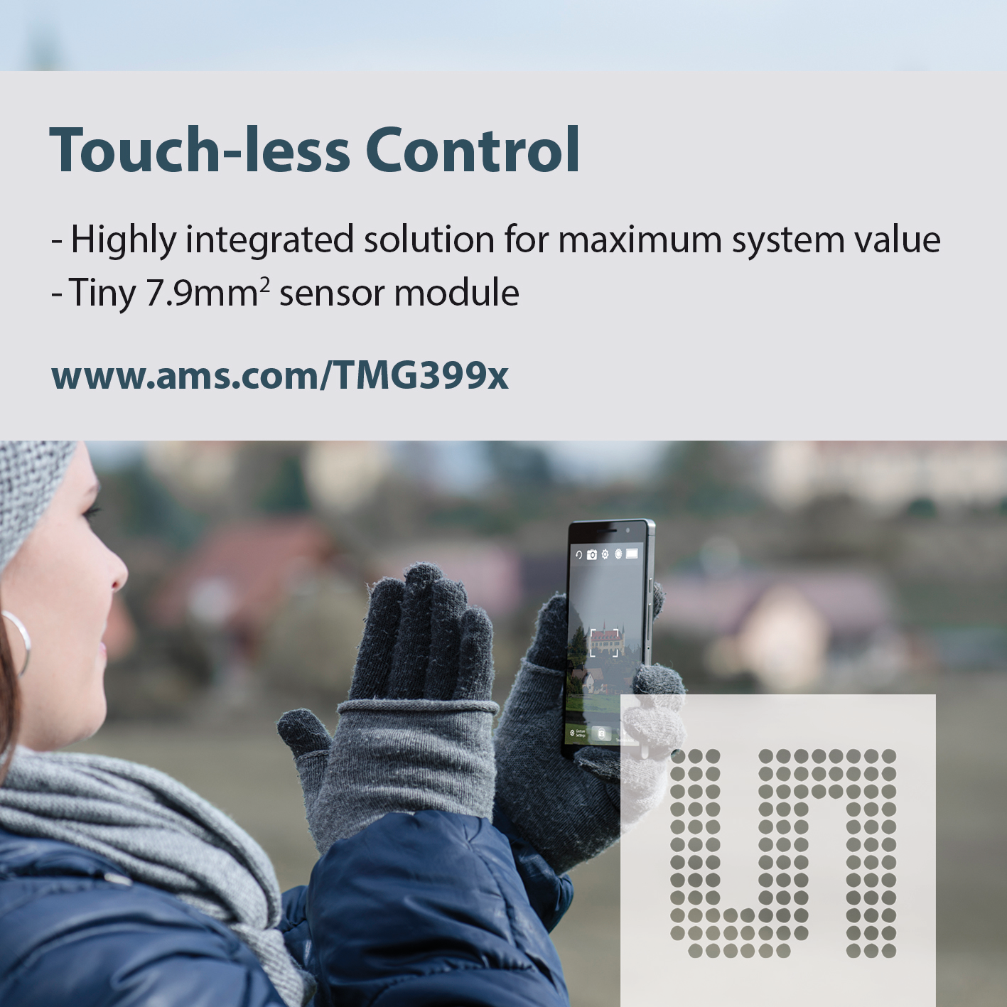 ams Touch less Control TMG399x