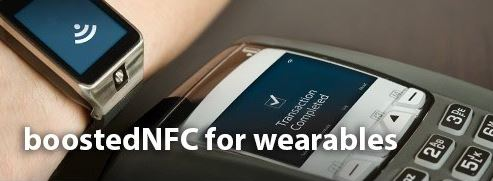 BoostedNFC for Wearables