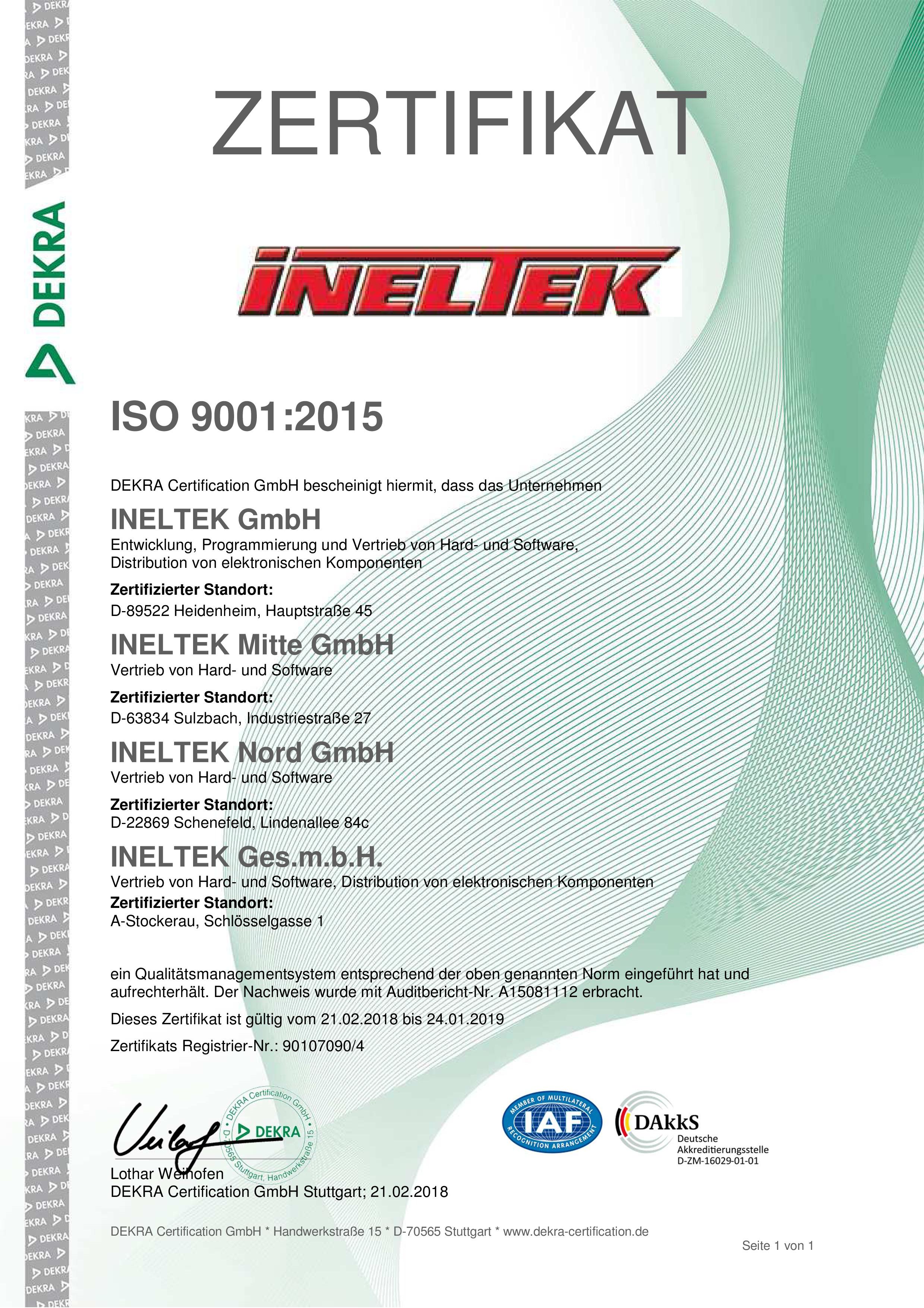 Zertifikat Deutsch